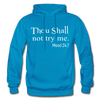 THOU SHALL- GILDAN HEAVY BLEND ADULT HOODIE - turquoise