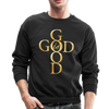 GOD IS GOOD - CREW-NECK SWEATSHIRT - black