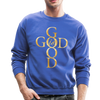 GOD IS GOOD - CREW-NECK SWEATSHIRT - royal blue