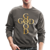 GOD IS GOOD - CREW-NECK SWEATSHIRT - asphalt gray