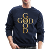 GOD IS GOOD - CREW-NECK SWEATSHIRT - navy