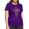 GOD IS GOOD - Women's T-Shirt - purple