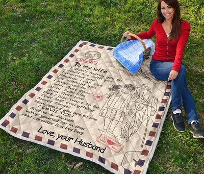 Premium Wife Quilt [BLACK FRIDAY PRICES]