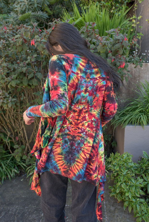 Barefoot Lazer Waterfall Cardigan #3