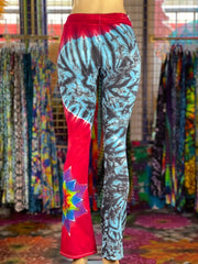 Extra Small HomeTown Tiedye Yoga Pant #22