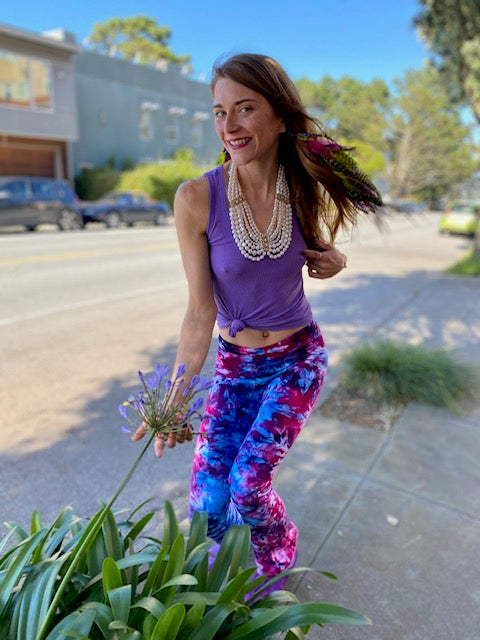 OG Tiedye Yoga Pant #14 (size options)