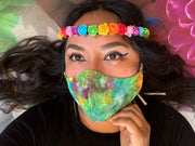 Lupe's Rainbow Rose Crowns