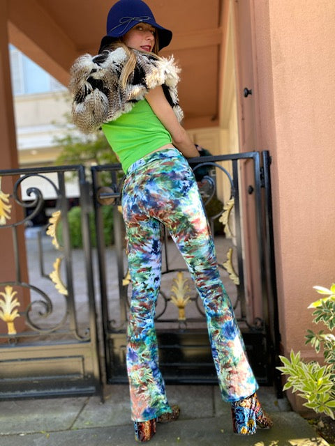 OG Tiedye Yoga Pant #5 (size options)
