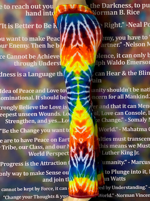 Medium HomeTown Tiedye Yoga Pant #7