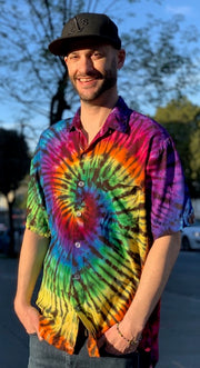 Zach Wright Tiedye Button Down #3
