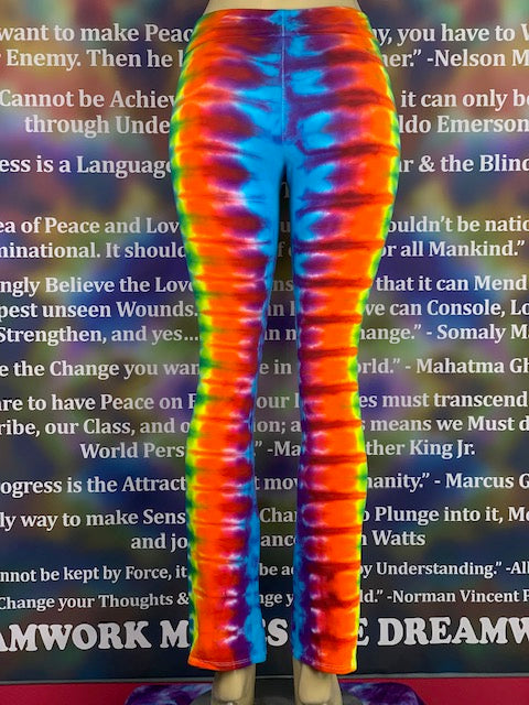 Extra Small HomeTown Tiedye Yoga Pant #20