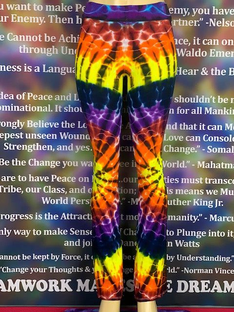 Extra Small Home Town Tiedye Yoga Pant #21