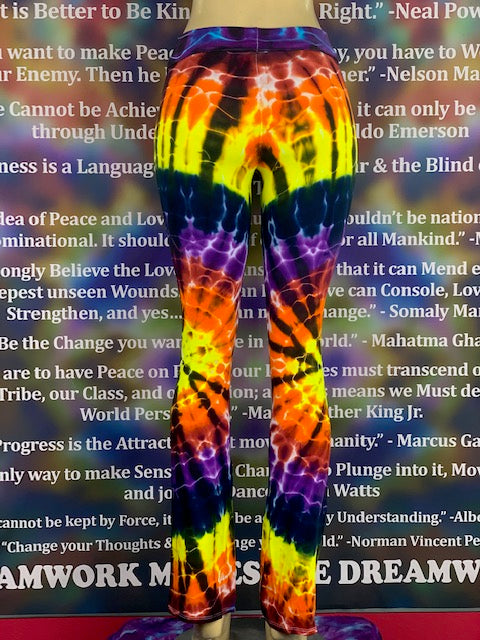 Extra Small HomeTown Tiedye Yoga Pant #21