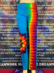 Extra Large Home Town Tiedye Yoga Pant #23