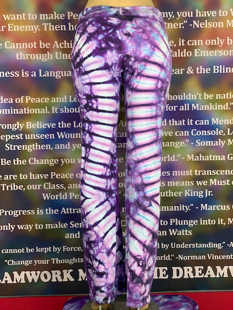 Extra Large Home Town Tiedye Yoga Pant #24