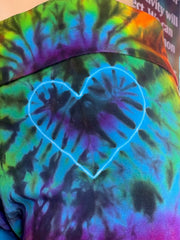 Extra Large Home Town Tiedye Yoga Pant #27