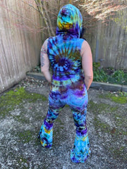 Medium BlackDog Dyes Katana Onesie #5