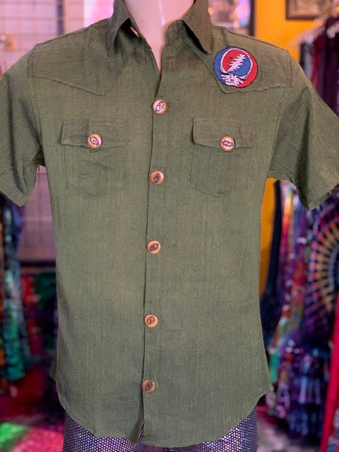 Jayli Short Sleeve Button Down #5