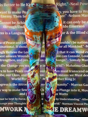 Medium Nomadic Blue Designs Yoga Pant #12 *Limited Run