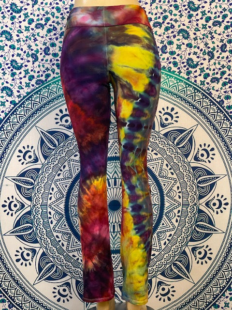 Large Nomadic Blue Designs Yoga Pant #15 *Limited Run