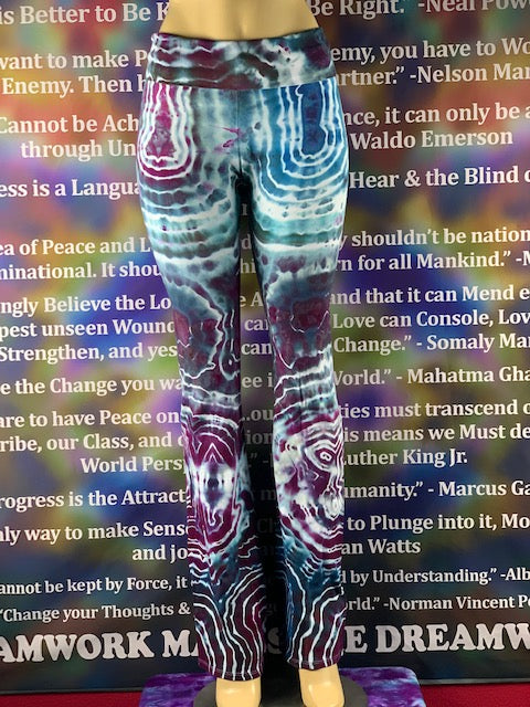 Large Nomadic Blue Designs Yoga Pant #16 *Limited Run