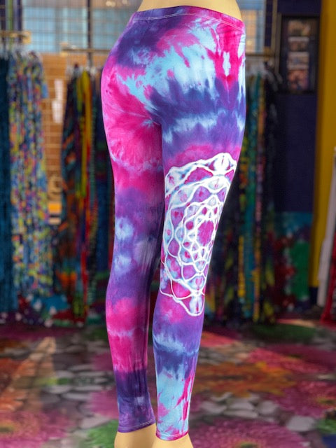 XL Dire wolf Dyes Leggings #21