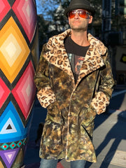Philine Tiedye Coat #15 Medium