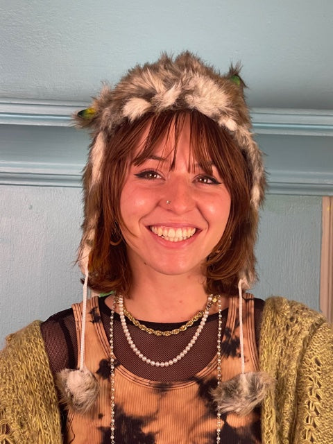 Large HomeTown Tiedye Button Down #8