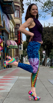 Janis Loves Tiedye Leggings #5