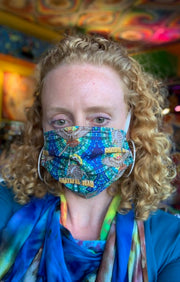 Grateful Dead Double Layer Mask #1