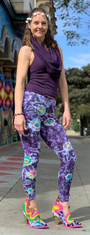 Janis Loves Tiedye Leggings #4