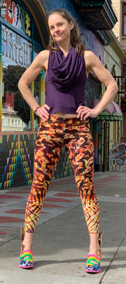Janis Loves Tiedye Leggings #2