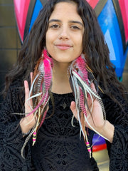 Feather Earrings #7