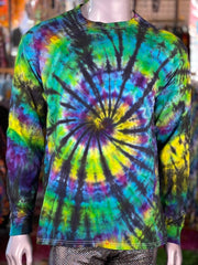 Large Janis Loves Tiedye Women's Hoodie #8