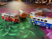 Mini Peace & Love VW Buses