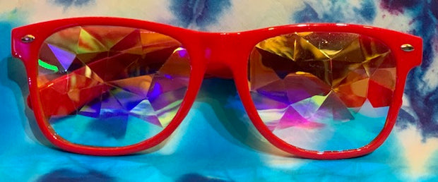 Kaleidoscope Glasses #1 (3 color options)