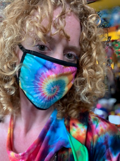 Rainbow Printed Behind the Ear Face Mask (3 Options)