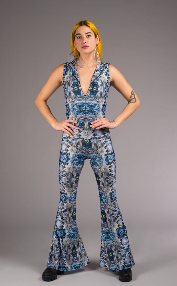 Night Owl Katana Jumpsuit - Jammin Warrior Collective - Warrior Within Designs ,Onesie