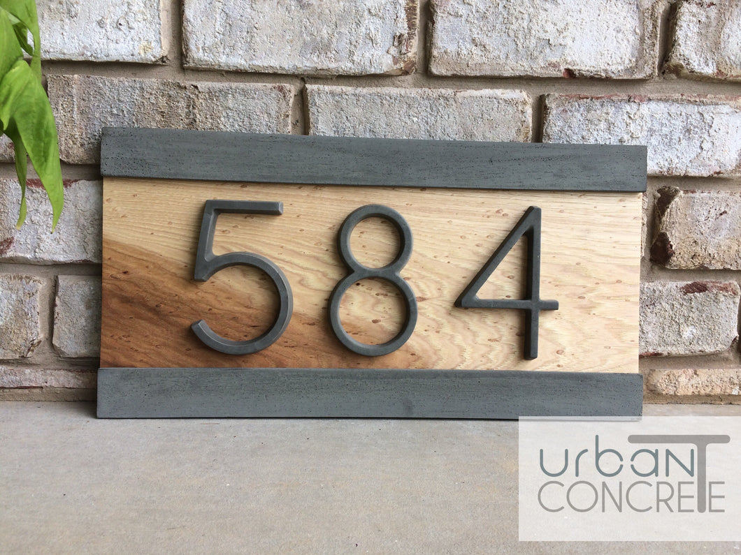 Modern house numbershouse numbers signaddress plaque custom house address realtor