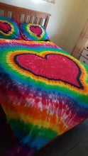Rainbow Heart with Black