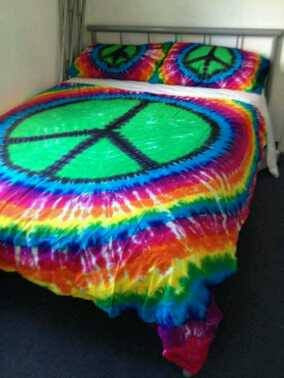 Peace Sign Doona cover