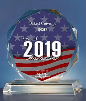 Baked Cravings Receives 2019 Best of Manhattan Award