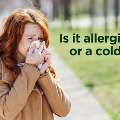 Sneezing and Sniffling: How to Tell If It's Allergies or a Cold by AAFA
