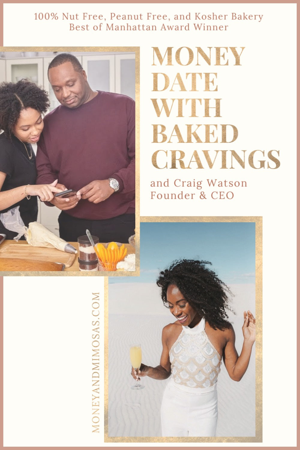 Money Date With Baked Cravings by MoneyandMimosas.com