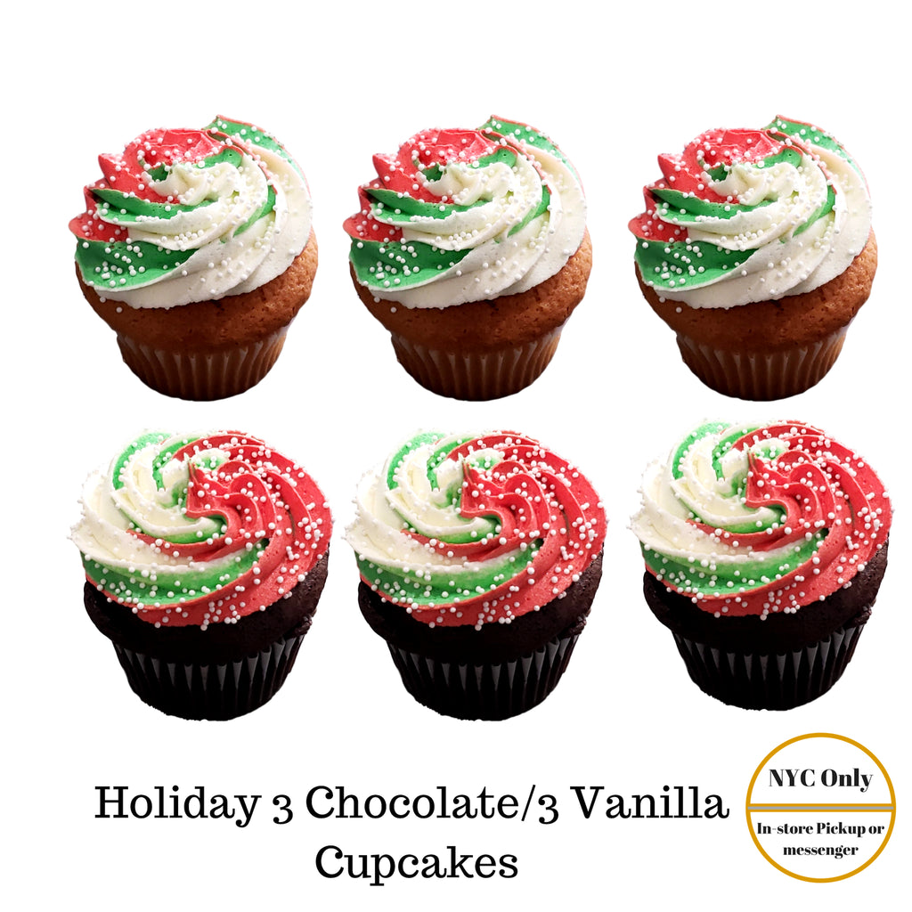 Holiday Cupcakes (nyc only)