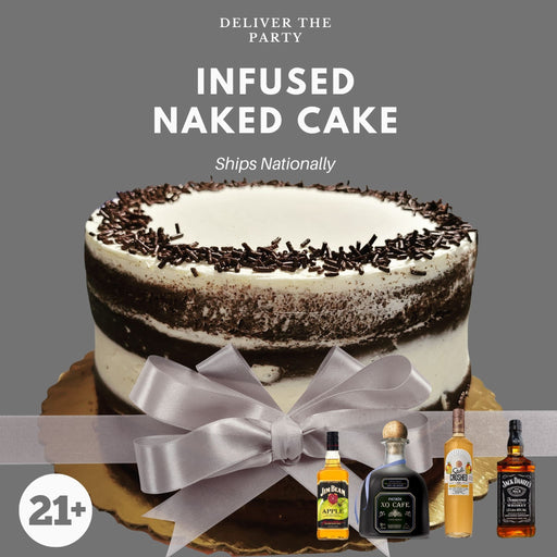 Infused Naked Cake  (Ships Nationally!)