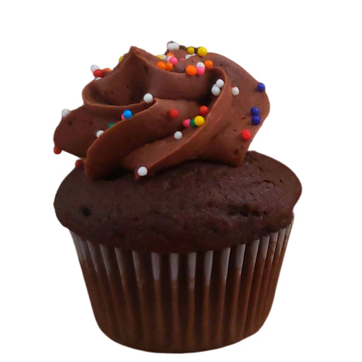 Mini Chocolate Cupcake (Dozen)