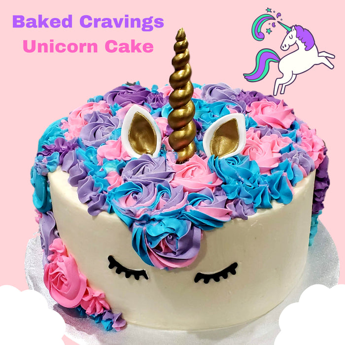 Unicorn Cake - Baked Cravings