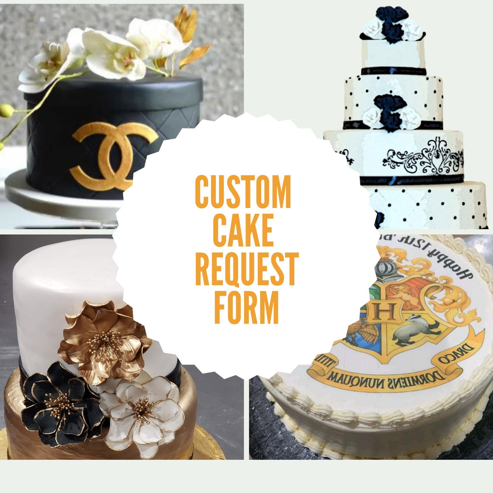 Custom Cake Request Form