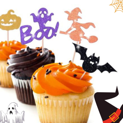 Halloween themed Cupcakes (NYC only) (Dozen)